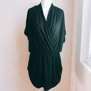 Rachel Roy Draped Jersey Dress with Pockets